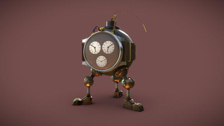 Time Bomb Character 3D Model