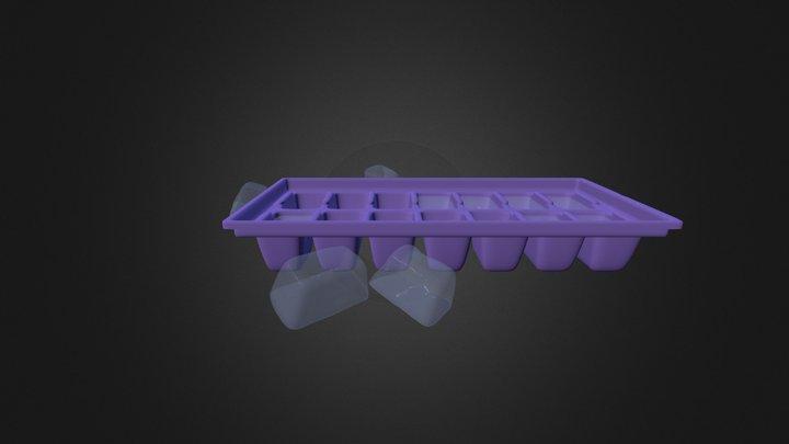 Ice Cube Tray 3D Model