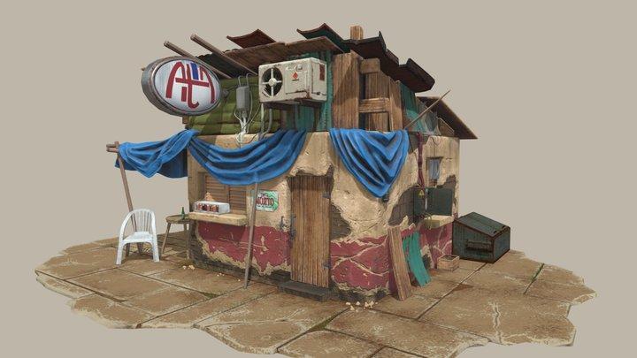 Slum house 3D Model