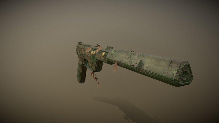 Gost Forest (Valorant Gun) 3D Model