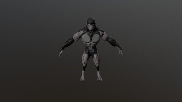 Lobisomem - McTech Goiânia Contest 2017_SM 3D Model