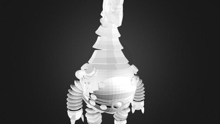 sad mechanism 3D Model