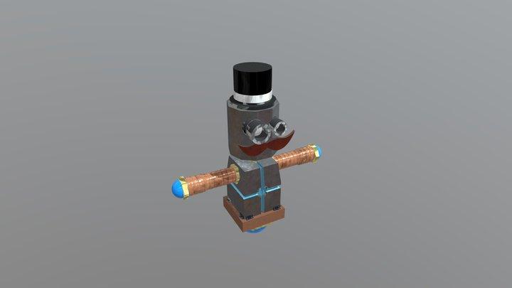EL10_T Previs Model 3D Model