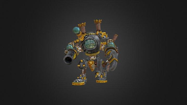 Forge Goblin Mech 3D Model