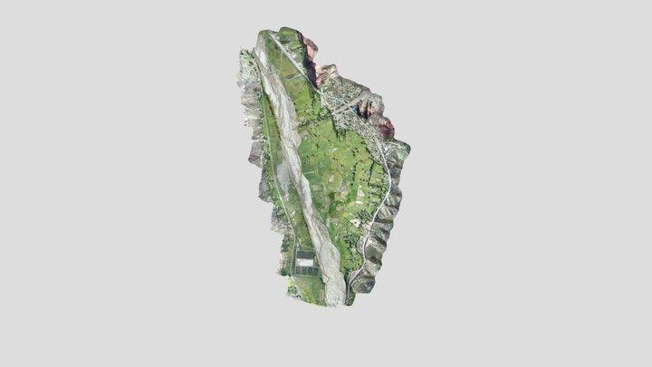 Sur de la cuenca Tupiza 3D Model