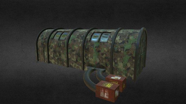 Military Tentttttt 3D Model
