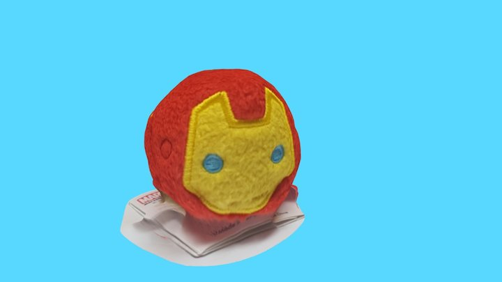 Iron Man Tsum Tsum 3D Model