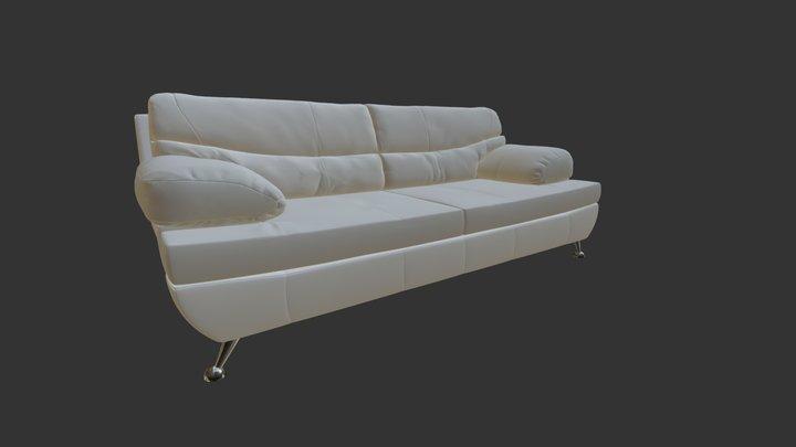 Sofa Kapa 3D Model