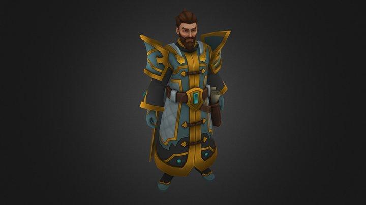 Guild Master 3D Model