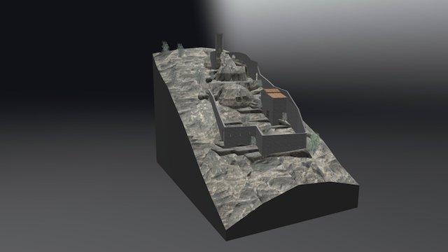 Castello di Roccapreturo 3D Model
