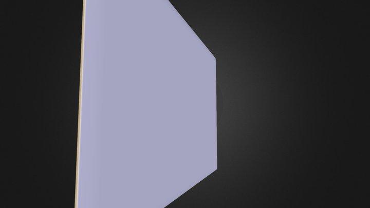 Club Card End 1 3D Model