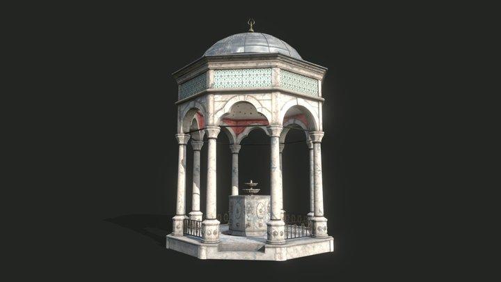 The Ablution Fountain 3D Model