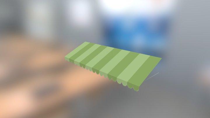 Pastry Panzer Panic! - Awning 2 3D Model