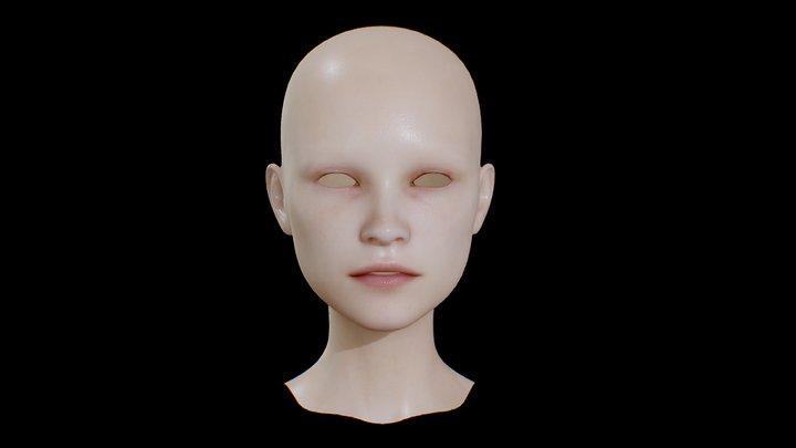 HEAD_FEMALE 3D Model