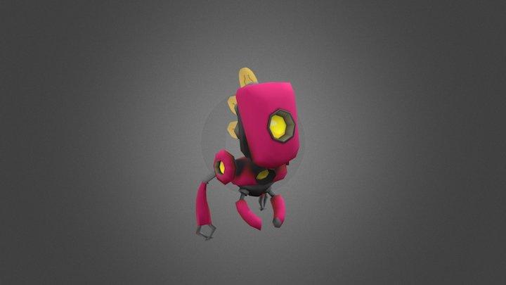 #4 - Lanky 3D Model