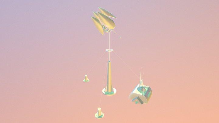 V.E.P. IX: Nuclear Telescope 3D Model