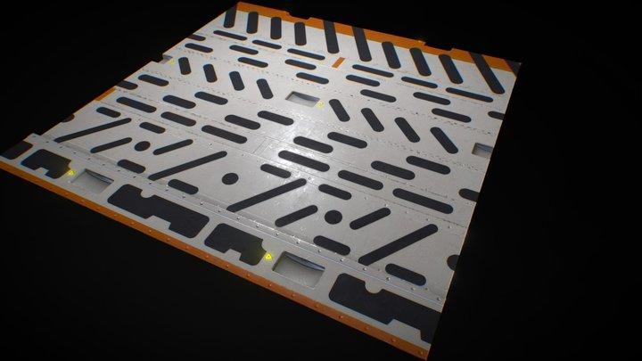 Floor A 01 3D Model