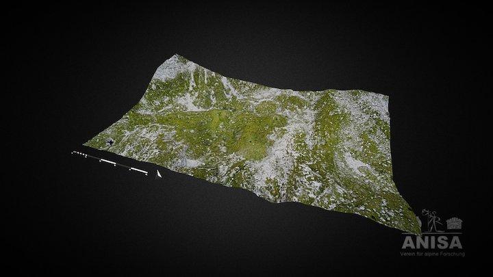 Bronzezeitliche Almwüstung - Tennengebirge/A 3D Model