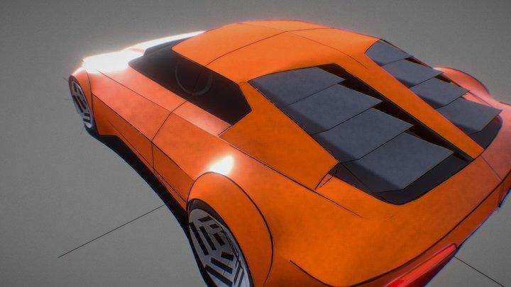 BMW M1 Concept 3D Model