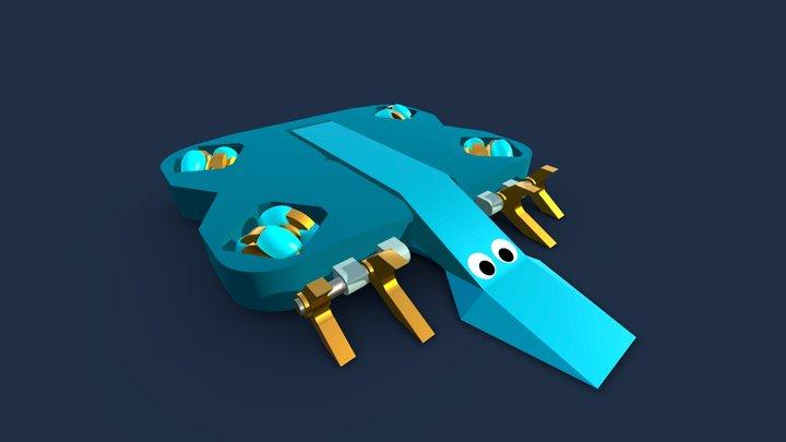 Swordfish 3 3D Model