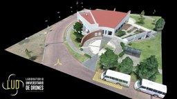 Cafetería y Salón de Usos Múltiples (Edificio J) 3D Model