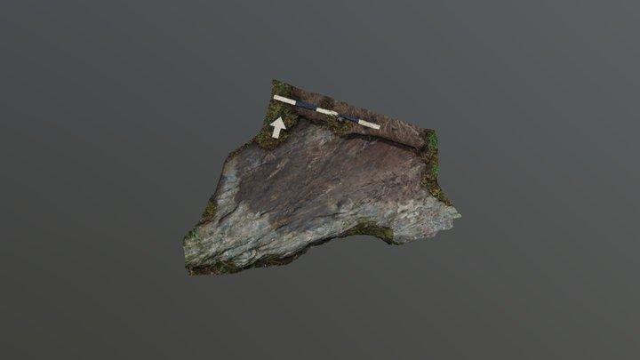 Rock Art Kilbridebeg 2 3D Model