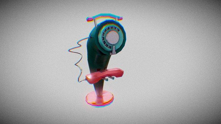 Retrofuturism - Standard Asset 1 - Phone 3D Model