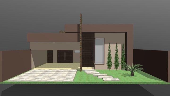 Proposta arquitetônica 01 3D Model