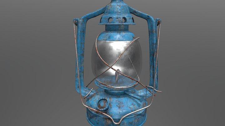 a Lamp 3D Model