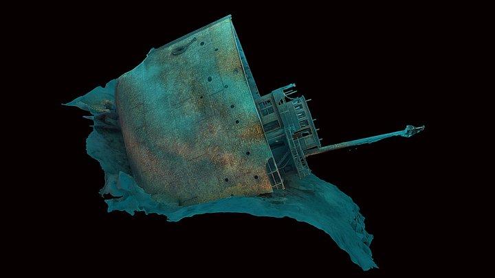 Chester A. Congdon Bow - Lake Superior 3D Model