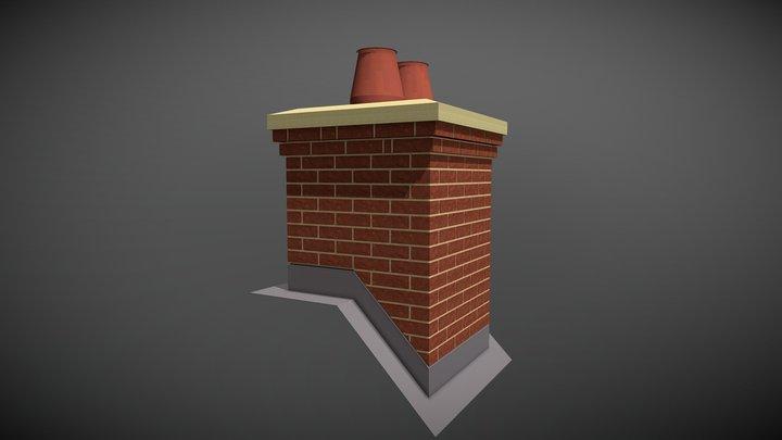 Hipped Chimney 3D Model