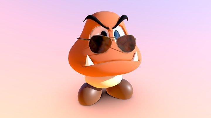Groovy Goomba 3D Model
