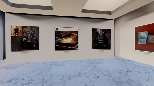 Instamuseum for @nineinchnails 3D Model
