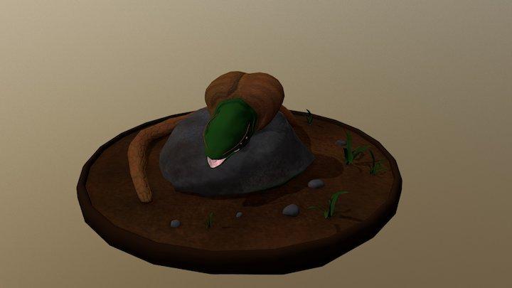 Serpent Ballon 3D Model