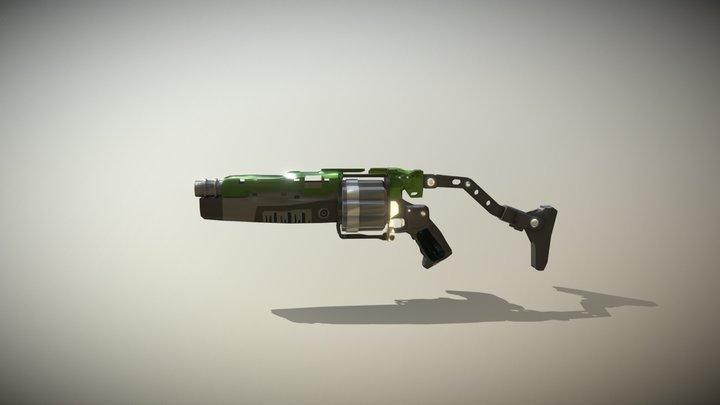 Doom Gun (Altered) 3D Model