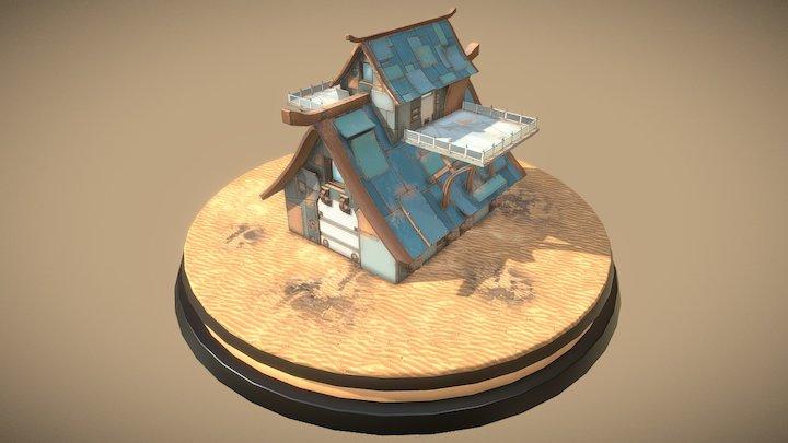 House (imaginary) 3D Model