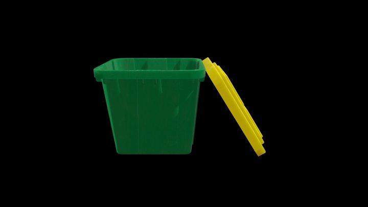 Recycle Bin - Low Detail 3D Model