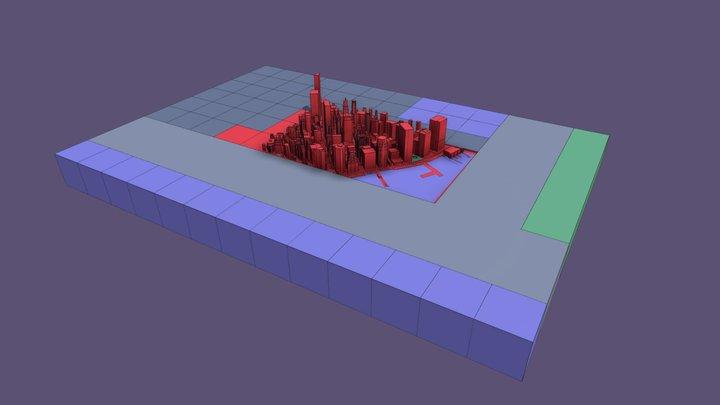 VARC_Scene 4_Manhattan 3D Model