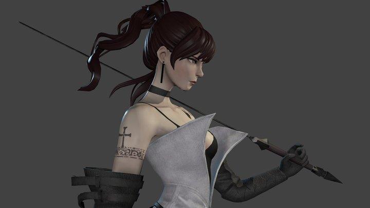 Sword Fighter 3D Model