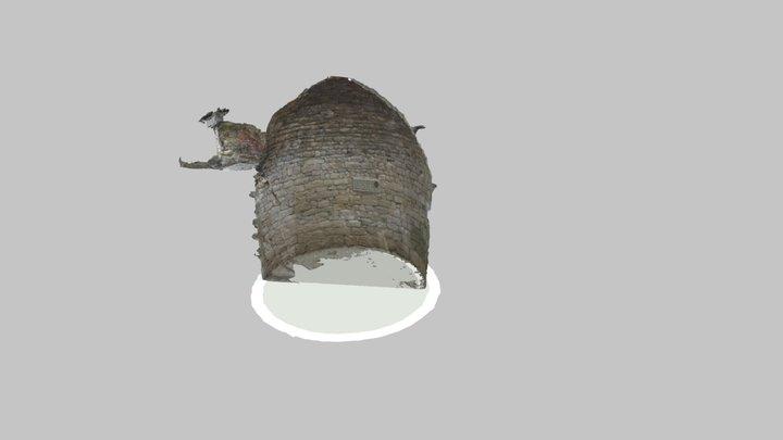 Pou de gel de Santa Coloma de Queralt seccionat 3D Model