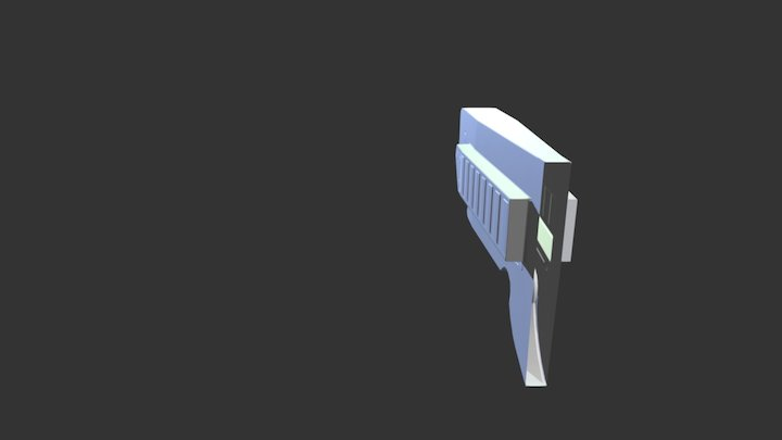 Intro to Normal Map Modeling for Games 3D Model