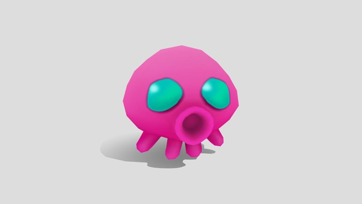 Jelly Beams - Octopus 3D Model