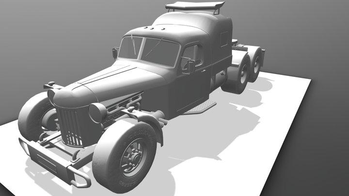 Зил - 157 3D Model