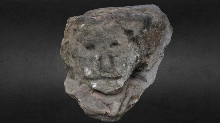 Clober House - Carved Stone 3D Model