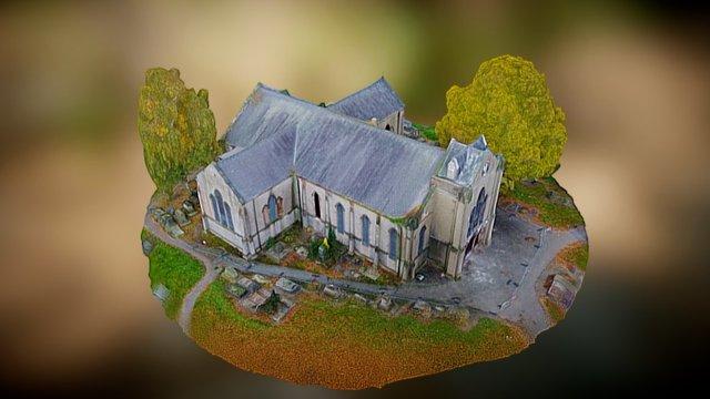 St Luke's Church, Cradley Heath 3D Model