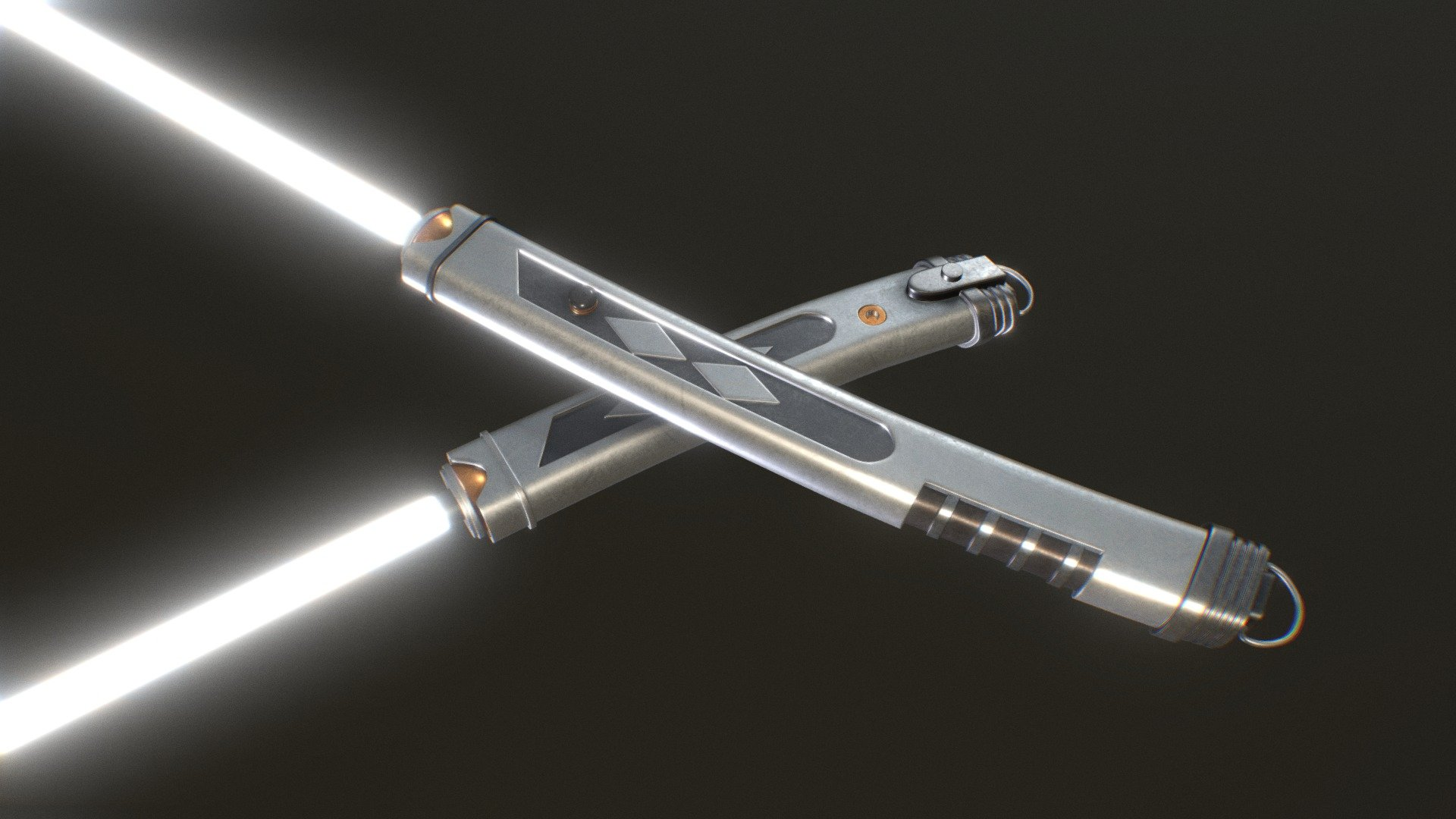 Enterprise Cars For Sale >> Ahsoka Rebels Lightsabers - 3D model by FusSionzZ97 ...