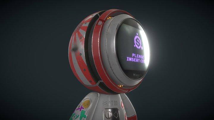 MEET MAT! - Japanese Arcade Machine 3D Model