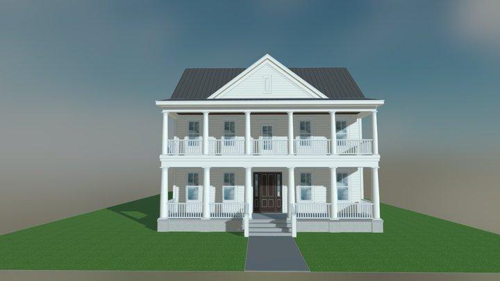 Jasmine Street 3D Model
