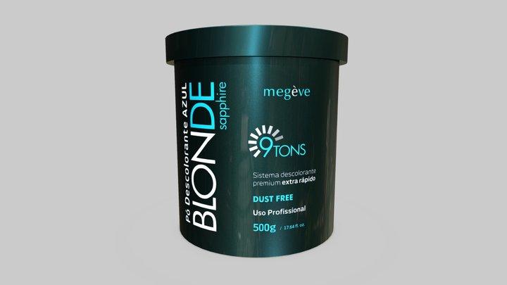 Bleach Powder Megève Blonde Sapphire 3D Model