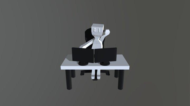 Mindless Screens 3D Model